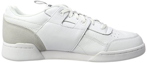IT Reebok Scarpe Ginnastica da Basse Bianco Black Skull Uomo Workout Plus White Grey UrwEaxUq