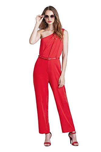 Blackbird Women's Romper Women's Red Sleeveless Jumpsuit, used for sale  Delivered anywhere in USA