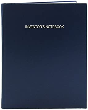 LIRPE-312-LGR-A-LKT5 BookFactory Black Inventors Notebook .25 Grid Format Smyth Sewn Hardbound 8 7//8 x 11 1//4 312 Pages Black Imitation Leather Cover