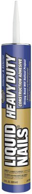 Liquid Nails LNP-901 Heavy Duty Construction Adhesive, 28 oz Cartridge (Pack of 12)