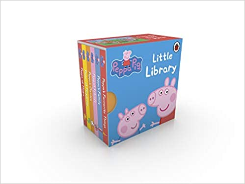 Peppa Pig Little Library Amazon Co Uk Peppa Pig 9781409303183 Books