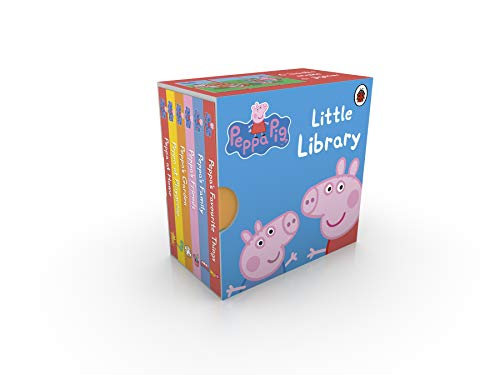 Peppa Pig: Little Library (Peppa Pig Gifts For 2 Year Old)