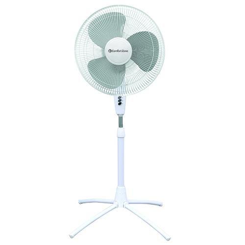 Read About Comfort Zone CZST161BTE Pedestal Fan