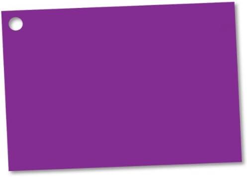 "Solid Purple Theme Gift Cards3-3/4x2-3/4"" (30 unit, 6 pack per unit.)"