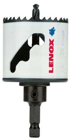 LENOX Tools Bi-Metal Speed Slot Arbored Hole Saw with T3 Technology, 1-5/8