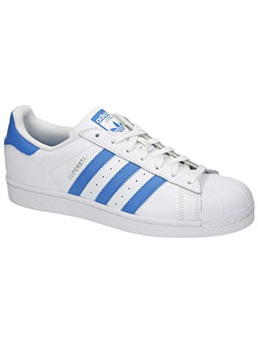 Superstar Adidas ray Adulto Ftwr Zapatillas ray Blue Unisex White B 6drqdO