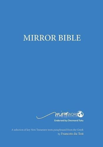 Mirror Bible (Blue Edition 7 X 10 Inch Wide Margin) (Mirror Word)
