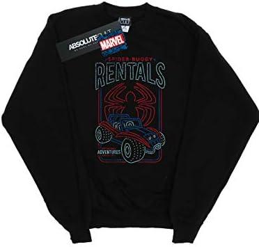 Marvel Herren Spider-Man Spider-Buggy Rentals Sweatshirt Schwarz XXXXX-Large