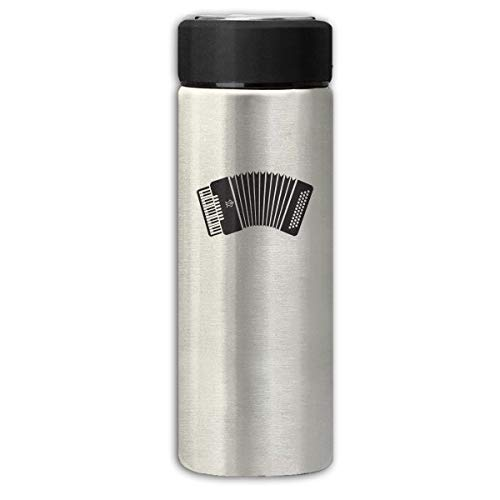 Accordion 350Ml Stainless Steel Frosted Business Travel Vacuum Cup Coffee Tea Mug