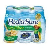 Pediasure W/Fiber Vanilla Size 6/8z Pediasure W/Fiber Vanilla 6/8z