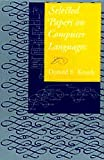 Selected Papers on Computer Languages 9781575863818
