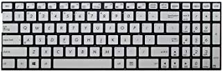 wangpeng New US Silver English Laptop Keyboard Without Frame for ASUS Q502L Q502LA-BBI5T12 Q502LA Q502LA-BSI5T14 Q502LA-BSI5T