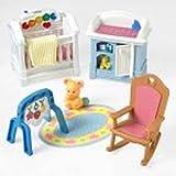 : Fisher Price Loving Family Dollhouse Sparkling Symphony Nursery 2001