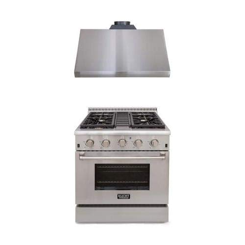 Kucht Professional Series 2-Piece Stainless Steel Kitchen Package with KRD306FLP 30