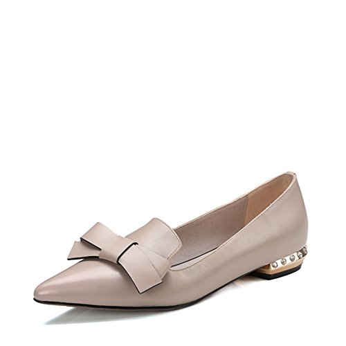 Moda primavera/verano afilados zapatos flat-bottom/arco trabajo profesional zapatos asakuchi/Zapatos de viajero B