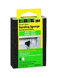 3M 909ESF 3-3/4'' x 2-5/8'' x 1'' M/C Sanding Sponge - 24ct. Case