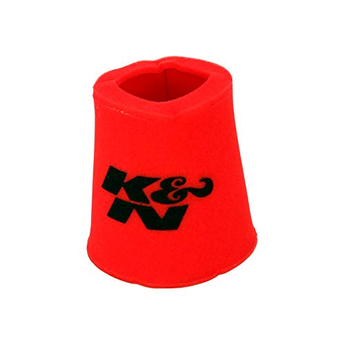 K&N 25-0880 Red Oiled Foam Precleaner Filter Wrap - For Your RE-0820 Round Filter