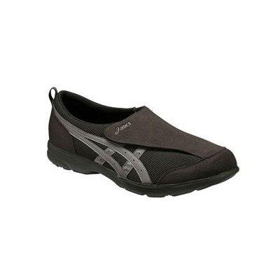 想像力豊かな蒸留する介入する(アシックス) asics スニーカー (FLC101-9073) ブラック×チャコールグレー ライフウォーカー ウォーキング 3E マジックテープ 屋内 屋外 靴