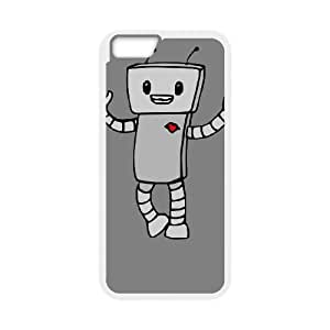 iPhone 6 4.7 Inch Cell Phone Case White ROBOT LOVE OJ459262
