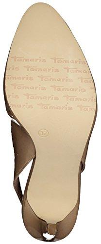 Tamaris - Zapatos con correa de tobillo Mujer NUDE PATENT