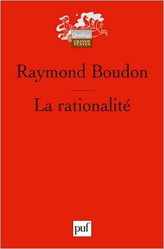 Livres gratuits La rationalité pdf, epub
