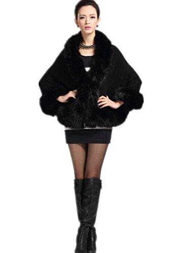 Femme Noir Charmly Taille Unique Manteau UWxqT5