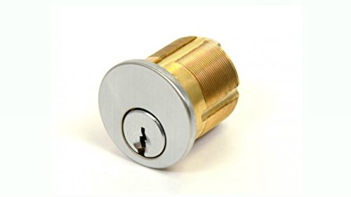 Mortise Keyed Cylinder 1/8'' : High Security Registered Key Lock : Do Not Duplicate Stamped Keys : Keyed Alike by GMS
