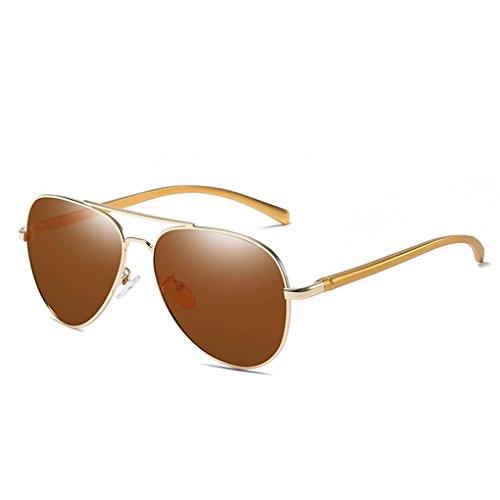 de soleil Protection Lunettes UV400 4 Coolsir en Lunettes verres mode homme de polarisants de alliage lunettes Cadre pId7pwBqx