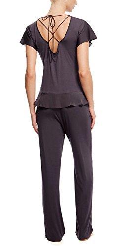 Marks and Spencer - Haut de pyjama - Femme marron marron
