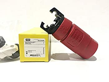 Hubbell HBL20444B Hubbellock Connector, 30 amp, 480V, 3 Pole 4 Wire