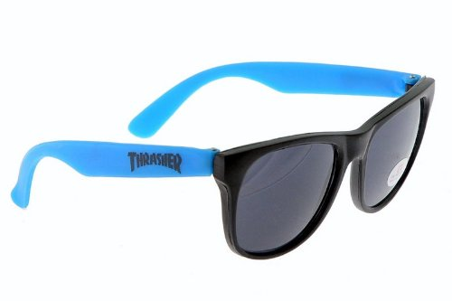Thrasher Skate Mag Logo Blue Shades Sunglasses FAST - Fast Shipping Sunglasses