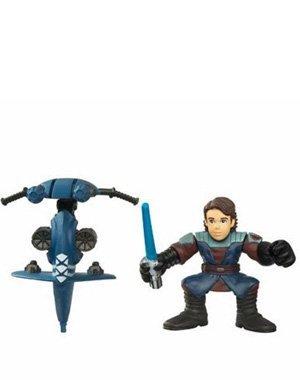 Star Wars: Galactic Heroes 2010 Anakin Skywalker & Stap Action Figure 2-Pack