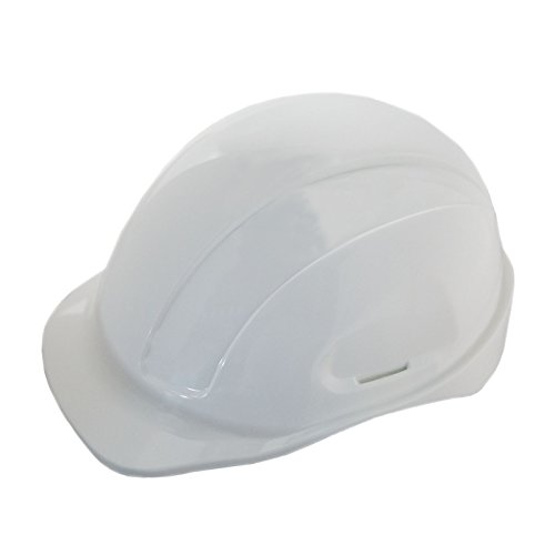 JORESTECH Safety Hard Hat White HDPE Cap Style Helmet with 4-Point Adjustable Ratchet Suspension For Work, Home, and General Headwear Protection ANSI Z89.1-14 Compliant HHAT-01