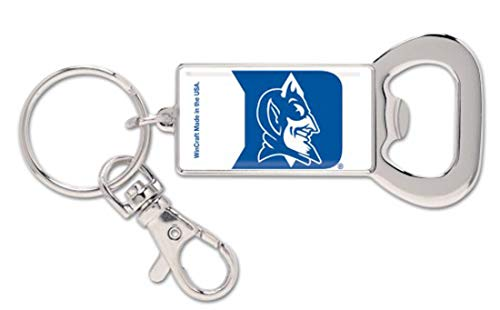 Wincraft NCAA Duke Blue Devils Bottle Opener Key - Key Devils Opener Bottle Ring