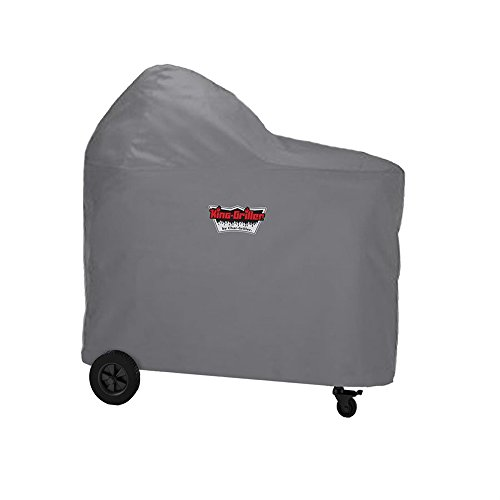 King-Griller by Char-Griller 6555 Akorn Kamado Cart Grill Cover Cart Model Grill Cover