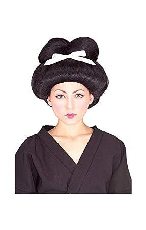Geisha Girl peluca Deluxe: Amazon.es: Juguetes y juegos
