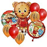 Daniel Tiger Jumbo Shape Party Balloon Set - 9 -