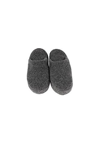 Karbaro - Zapatillas de estar por casa para mujer gris gris oscuro