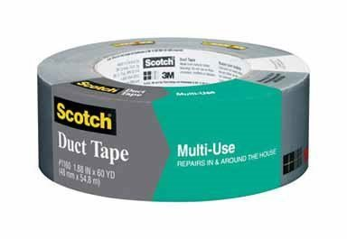 Scotch Multi-Use Duct Tape Roll, #2960 1.88 in x 60 yd 1 ea (Pack of 6) by Scotch Brands