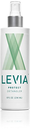 #1 Hair Detangler for Preventing Lice - LEVIA LICE - Natural Pesticide Free Products Infused with the Finest Essential Oils - Proven to Repel up to 100% of Lice - (Head Lice Hair Spray)