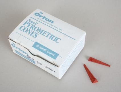 Orton Junior Pyrometric Cones - #6 Cones - Box of 50