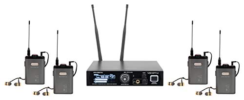 VocoPro In- In-Ear Audio Monitor System (IEM-DIGITAL-4)