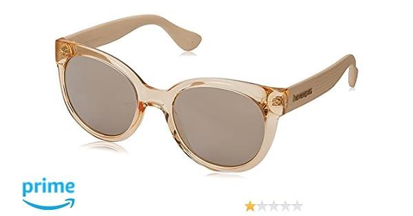 Havaianas Sunglasses Noronha, Gafas de Sol para Mujer, Dorado (Gold), 52: Amazon.es: Ropa y accesorios