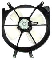 TYC 600080 Honda Civic Replacement Radiator Cooling Fan - Civic Fan Honda Radiator Cooling