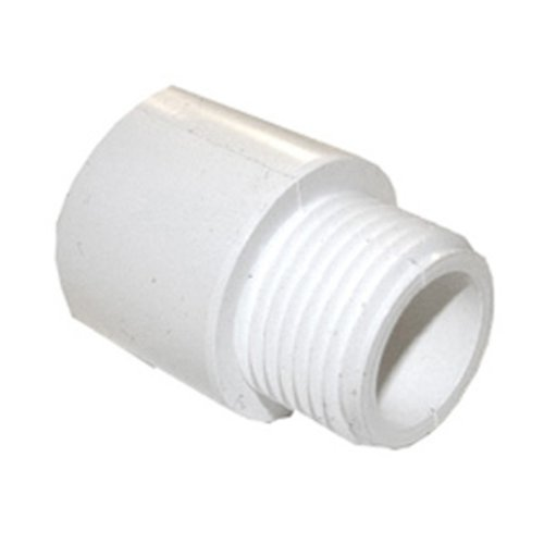 - LASCO 15-1643 PVC Hose Adapter with 3/4-Inch Male Hose Thread and 3/4-Inch PVC Pipe Glue Connection