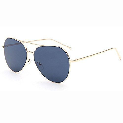 6cd4a71d3 Hipster Boy Gafas De Sol De Moda Street Shoot Glasses Bright Escáner Plano  De La Película Avantgarde Ojo Irregular Protección A Prueba De Viento De  Metal ...