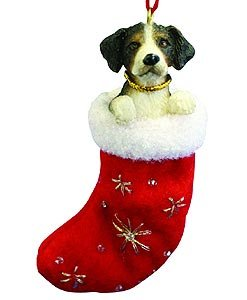 Ornaments Dog Mountain (Bernese Mt. Dog Christmas Stocking Ornament with