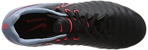 Nike Unisex-Kinder Jr. Tiempo Legend Vii Fg Fußballschuhe Schwarz (Black/armory Navy-light Armory Blue)