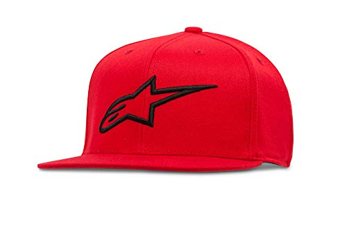 Ageless Rouge Flat Alpinestars Casquette Homme Hat Souple dRwvYq