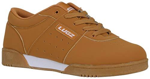 Lugz Men's Force Skateboard Sneaker,Wheat/Gum/White Durabrush,US 10 D ()